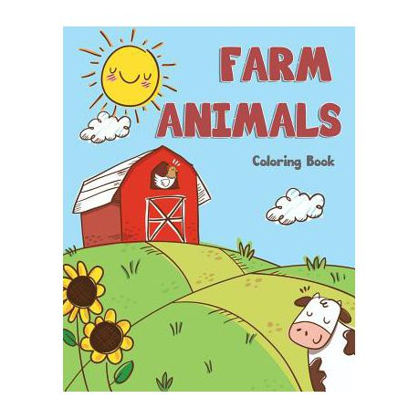 Farm Animals Coloring Book Buy Online In South Africa Takealot Com