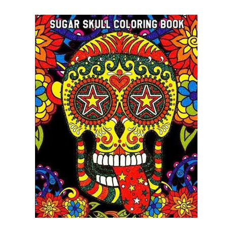 Sugar Skull Coloring Book | Buy Online in South Africa | takealot.com