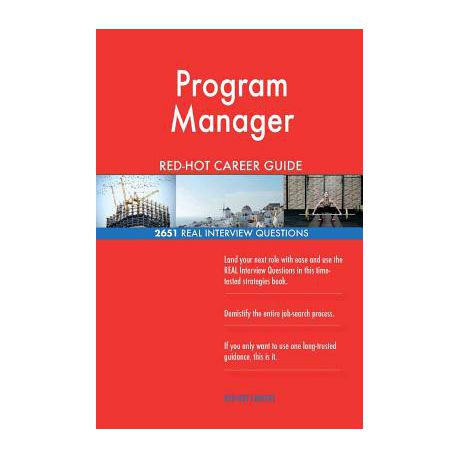 Program Manager Red-Hot Career Guide