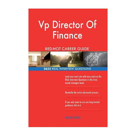 VP Director of Finance Red-Hot Career Guide