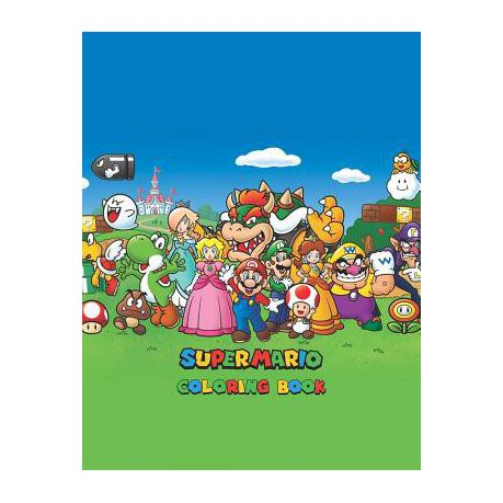 Super Mario Coloring Book Buy Online In South Africa Takealot Com
