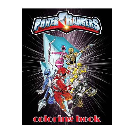 Power Rangers Coloring Book | Buy Online in South Africa | takealot.com