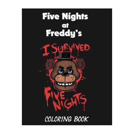 Five Nights At Freddy S Coloring Book Buy Online In South Africa