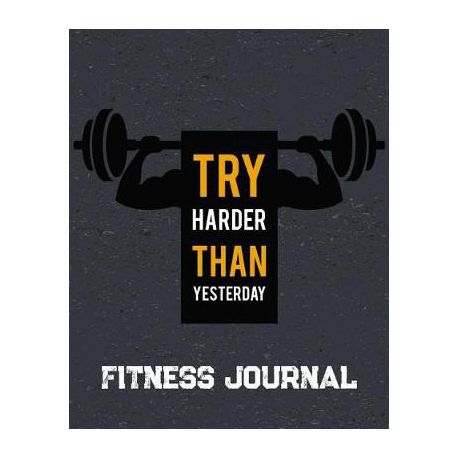 fitness journal workout exercise notebook with food planner buy