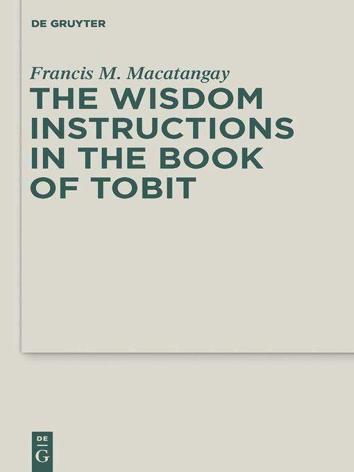 The book of tobit online