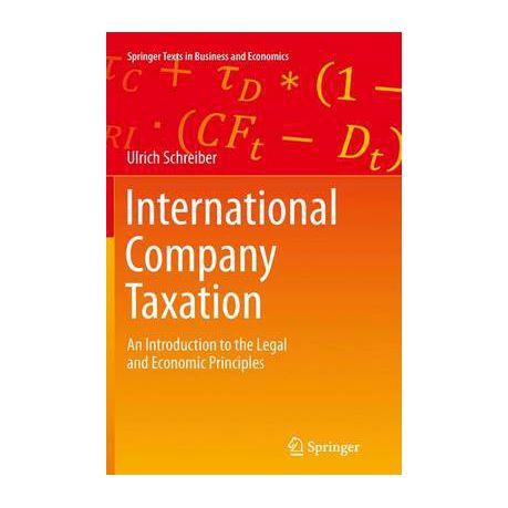 International Company Taxation  3a628d90c