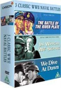 We Dive at Dawn/Battle of the River Plate/In Which We Serve (3 Disc) (Import DVD)