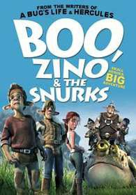 Boo, Zino & The Snurks (DVD)