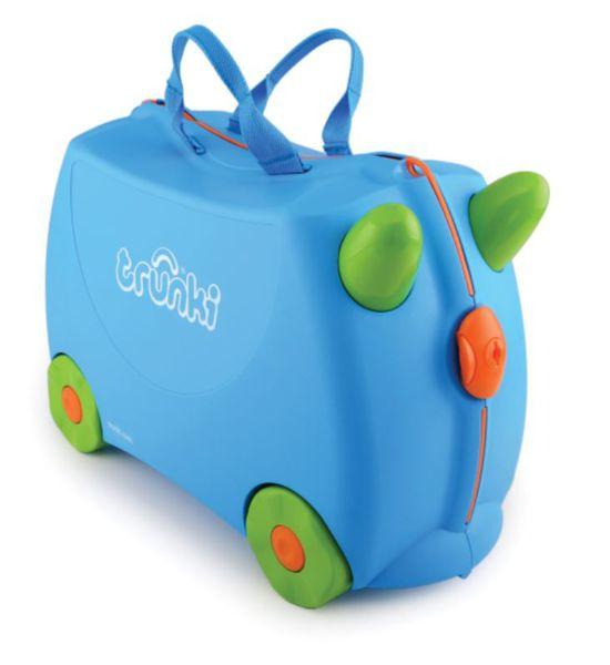 Trunki - Terrence Blue Suitcase