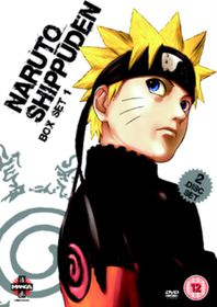 Naruto - Shippuden: Collection - Volume 1 - (Import DVD)