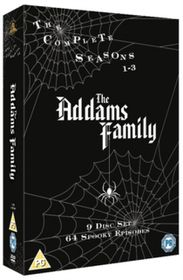 The Addams Family: The Complete Series 1-3 - (Import DVD)
