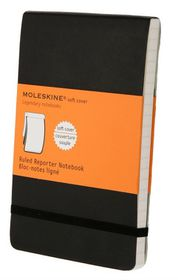 Moleskine Reporter Soft Black Pocket Ruled