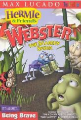 Hermie - Webster The Scaredy Spider (DVD)