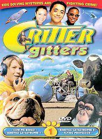 Critter Gitters Vol.1 (4 Episodes) - (Region 1 Import DVD)