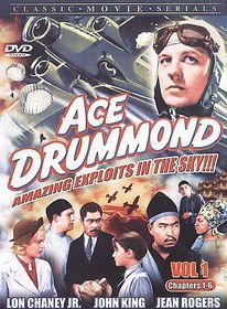 Ace Drummond - Volume 1 - (Region 1 Import DVD)