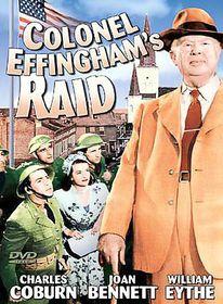 Colonel Effingham's Raid - (Region 1 Import DVD)