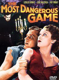 Most Dangerous Game - (Region 1 Import DVD)