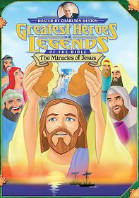 Miracles of Jesus - (Region 1 Import DVD)