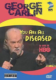 George Carlin:You Are All Diseased - (Region 1 Import DVD)