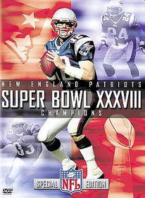 NFL Super Bowl XXXVIII: New England Patriots - (Region 1 Import DVD)