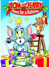 Tom and Jerry:Paws for a Holiday - (Region 1 Import DVD)