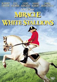 Miracle of the White Stallions - (Region 1 Import DVD)