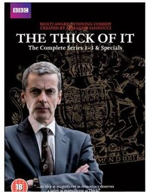The Thick Of It Complete Boxed Set