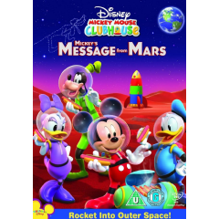 Mickey Mouse Clubhouse Mickey's Message from Mars (DVD)
