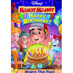Handy Manny Happy Birthday (DVD)