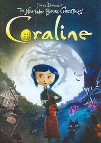 Coraline - (Region 1 Import DVD)