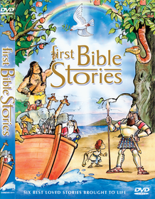 First Bible Stories - (DVD)