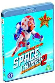 Space Chimps 2 3D (Blu-ray)