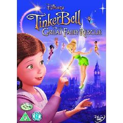 Tinkerbell and the Great Fairy Rescue (DVD)