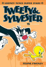 Looney Tunes Super Stars Bugs: Sylvester & Tweety : Feline Fwenzy (DVD)