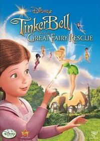 Tinker Bell and the Great Fairy Rescue (2010) (Blu-ray)