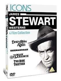 James Stewart Westerns (DVD)