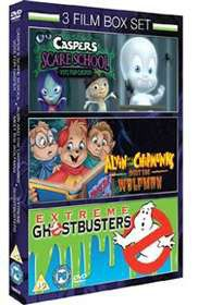 Casper's Scare School / Alvin and the Chipmunks Meet the Wolfman / Extreme Ghostbusters - (DVD)