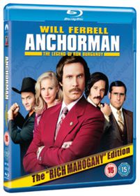 Anchorman - The Legend of Ron Burgundy - (Import Blu-ray Disc)