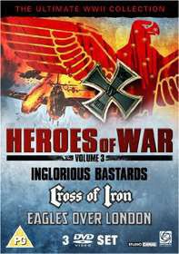 Heroes of War Vol 3 (DVD)
