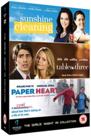 Sunshine Cleaning / Paper Heart / Table For Three (DVD)