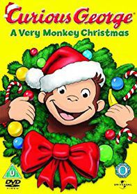 Curious George A very Monkey Christmas (DVD)