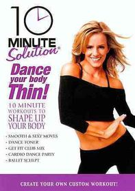 10 Minute Solution:Dance Your Body Th - (Region 1 Import DVD)
