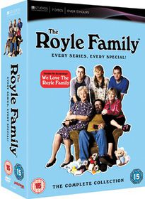The Royle Family Every Series and 3 Specials (DVD)