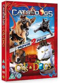 Cats and Dogs / Cats and Dogs: The Revenge of Kitty Galore (DVD)