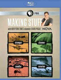 Nova:Making Stuff - (Region A Import Blu-ray Disc)