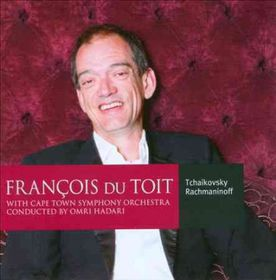 Tchaikovsky / Cape Town Sym Orch / Du Toit - Piano Concerto No.1 In B Flat Minor / Rhapsody On A Theme Of Paganini Op.43 (CD)
