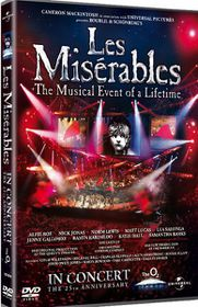 Les Miserables in Concert The 25th Anniversary (DVD)