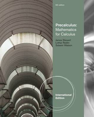 precalculus mathematics for calculus ebook