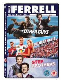 The Other Guys / Step Brothers / Talladega Nights (DVD)