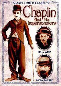 Chaplin and His Impersonators - (Region 1 Import DVD)
